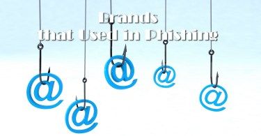 Brands commonly used in phishing