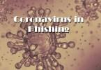 Attackers exploit the theme of coronavirus
