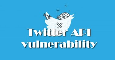 Attackers used Twitter API