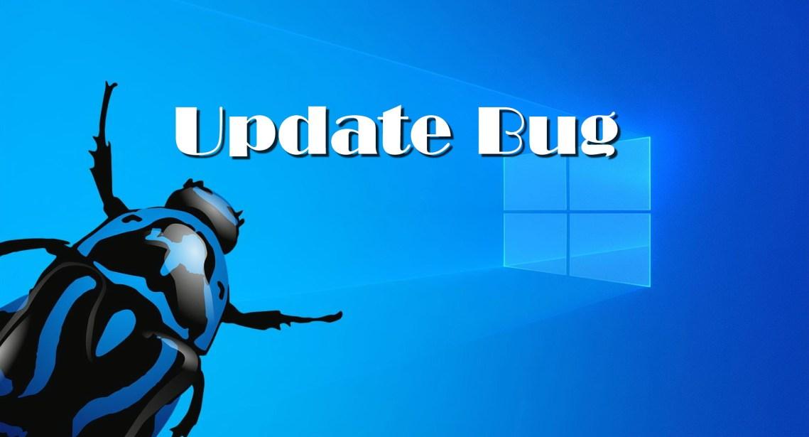 Windows update deletes files