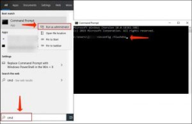 DNSフラッシュ - ipconfig /flushdns