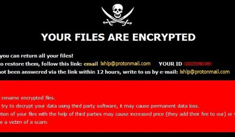 [lxhlp@protonmail.com].LXHLP virus demanding message in a pop-up window