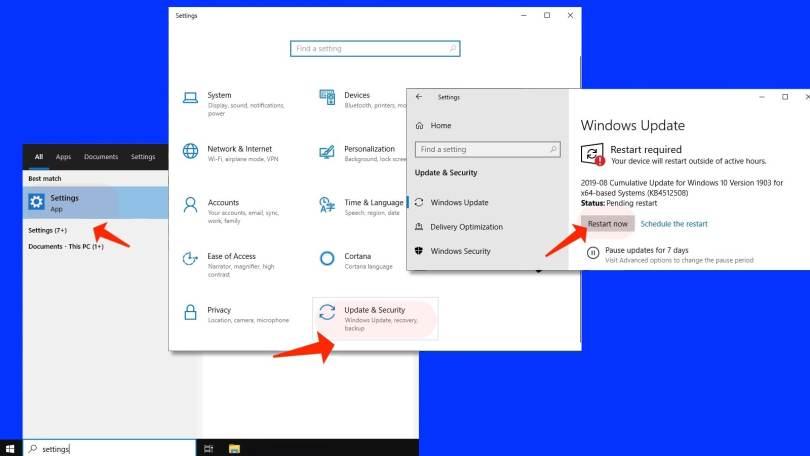 Video Scheduler Internal Error - Windows Updates