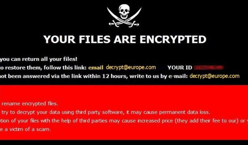 [decrypt@europe.com].Eur virus demanding message in a pop-up window