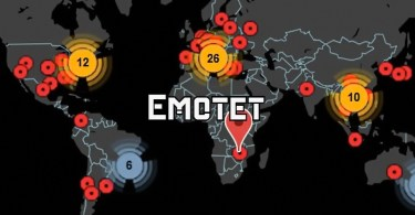 Emotet uses parked domains