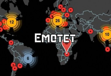 Emotet uses parked domains