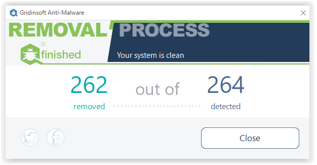 PC Cleaner removed