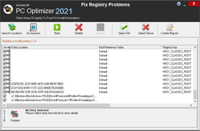 Asmwsoft PC Optimizer - False Detection