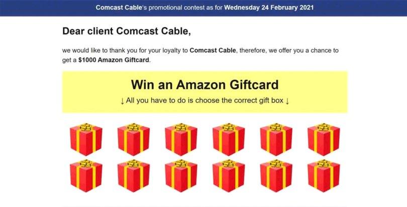 $1000 Amazon GiftCard
