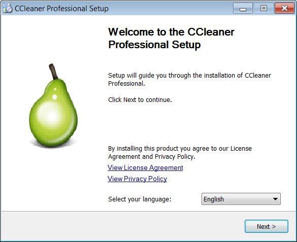 Fake CCleaner Installer