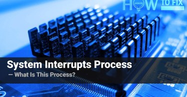 System Interrupts - What is this process?