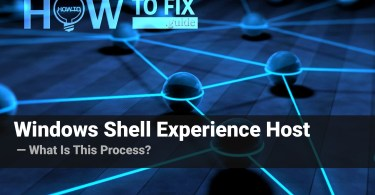 What is Windows Shell Experience Host process?