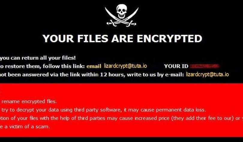[lizardcrypt@tuta.io].Liz virus demanding message in a pop-up window
