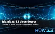 Idp.alexa.53. What is that virus detection?