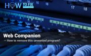 Web Companion removal instruction