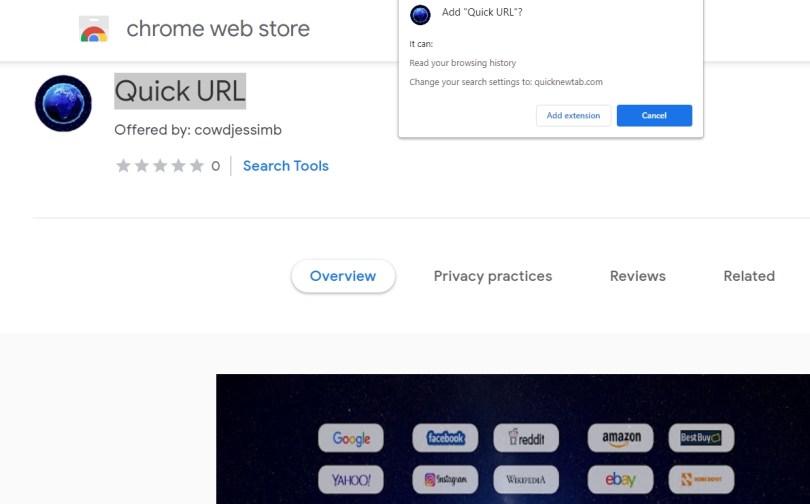 Quick URL hijacker - Lp.apcy.xyz