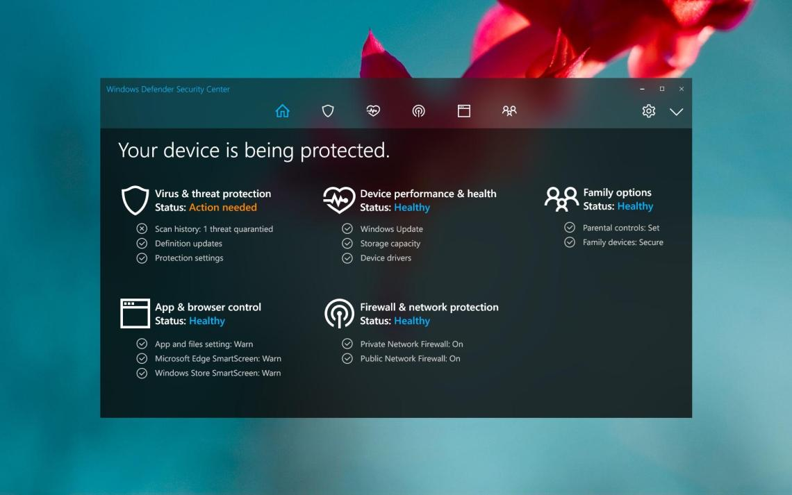Windows Security: Virus & Threat Protection