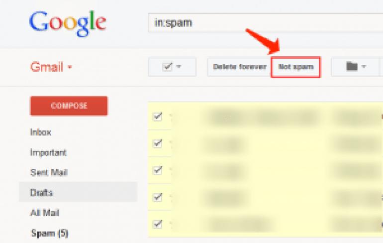correo electrónico sin spam