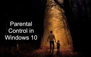 Parental Controls in Windows 10. Guide to Establish