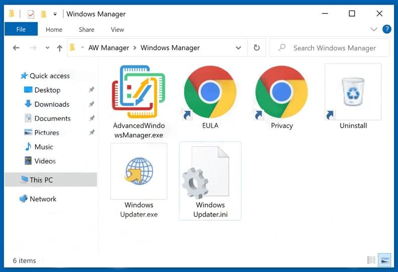 Advanced Windows Manager
