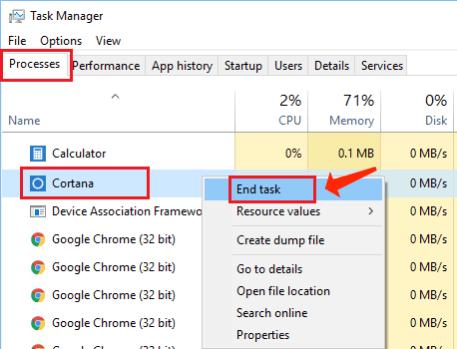 end task manager windows