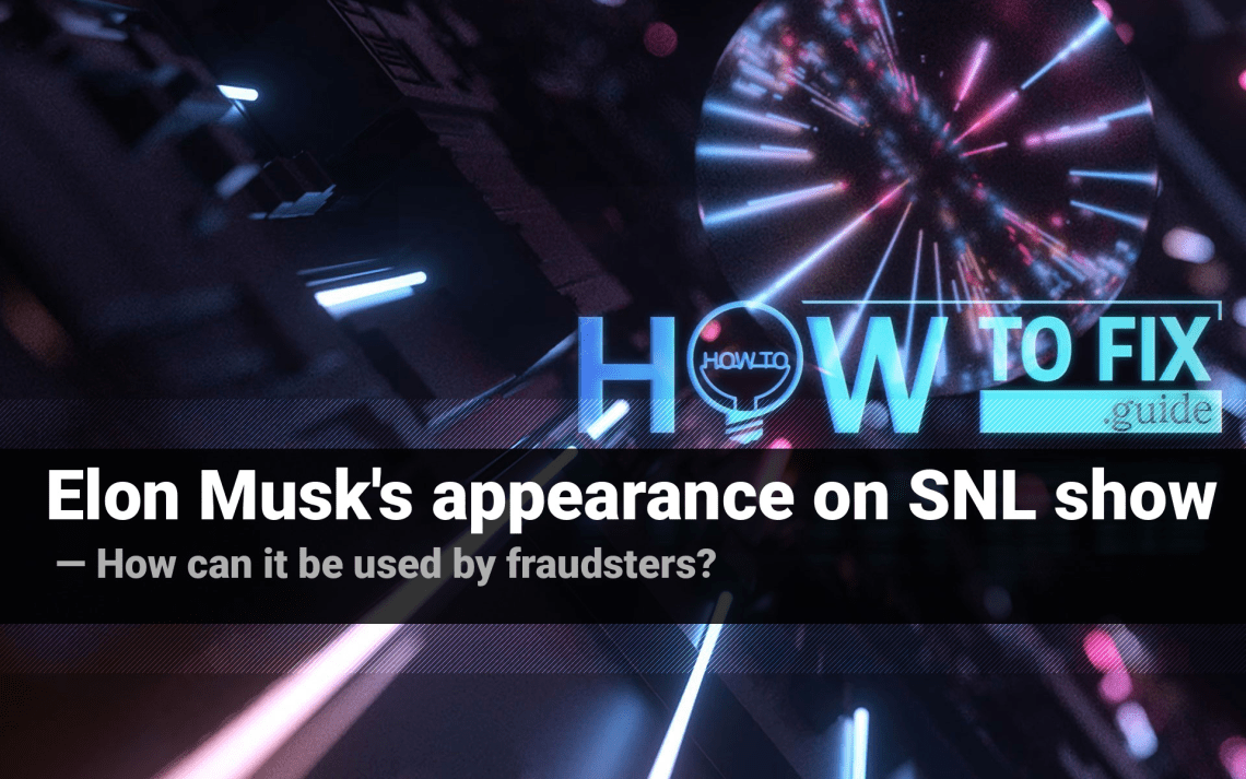 Elon Musk's appearance at SNL is a tool for cryptocurrency scammers