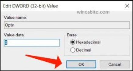 Corrección de LogTransport2.exe: registro DWORD establecido valor 0