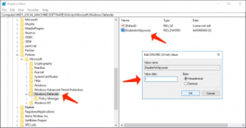 ejecutable del servicio antimalware: deshabilitar el defensor de Windows