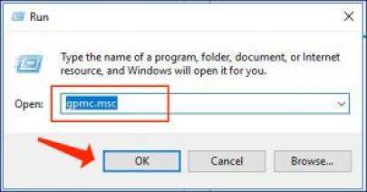 Windows 10 - 運行 gpmc