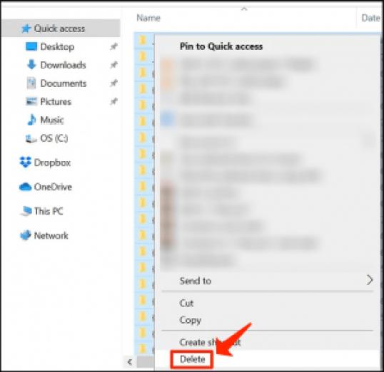 アップロードとダウンロードの速度-一時ファイルを削除します
