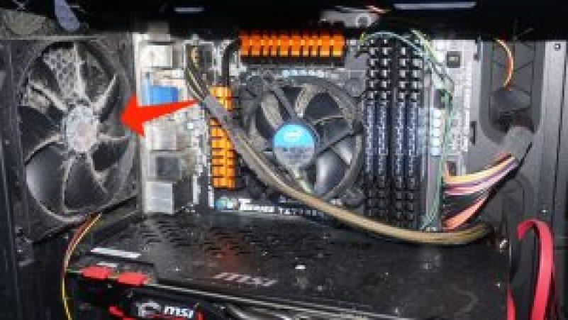 高 CPU 負載 - 電腦清潔散熱器