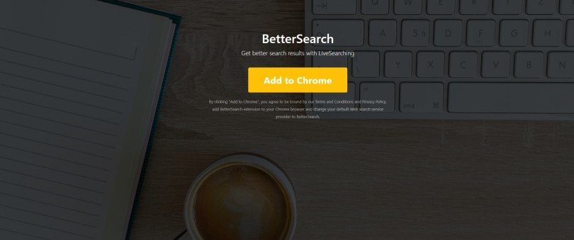 BetterSearch hijacker - Bettersearchtr.com