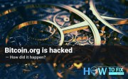 Bitcoin.org site is hacked. How did it happen?