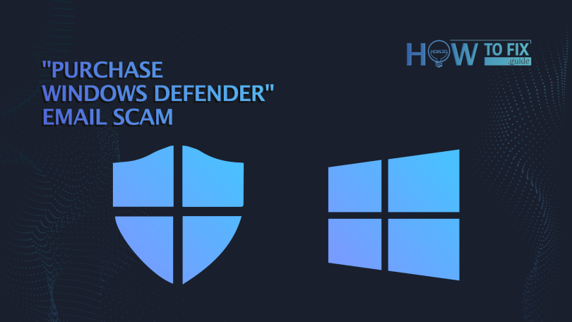 purchase windows defender email scam