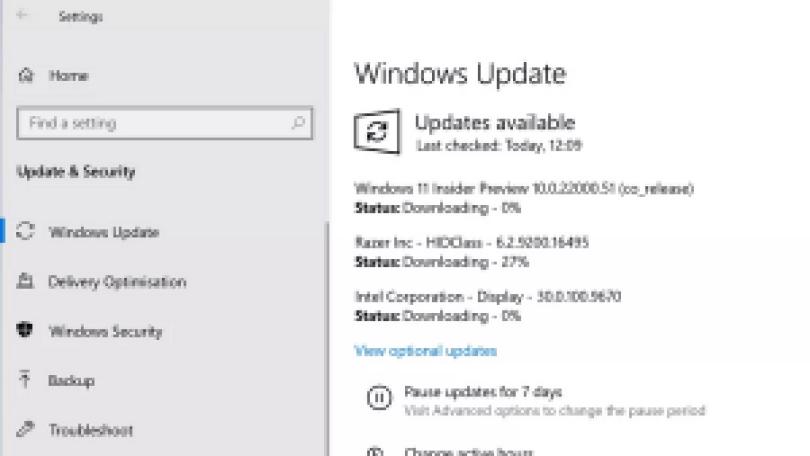 Windows11のダウンロード