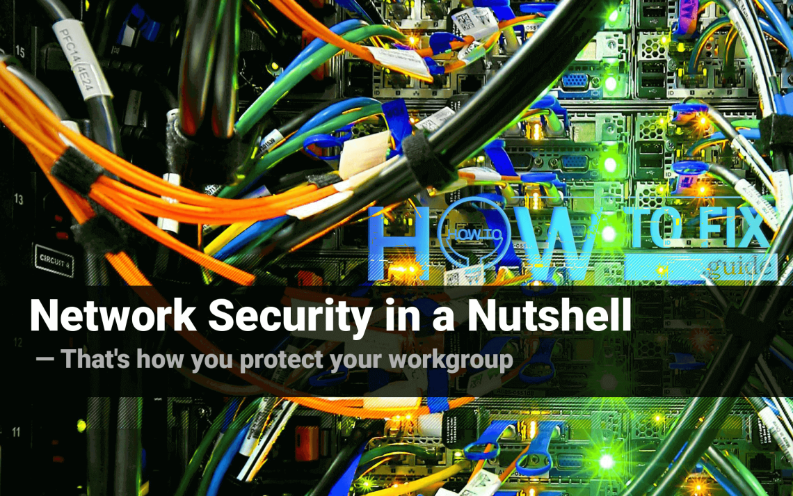Nine important points on network security