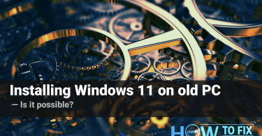 How to install Windows 11 on an incompatible PC?