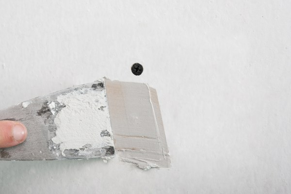 How to fix nail holes in drywall