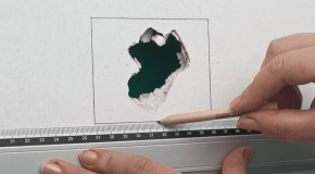 How to fix holes in drywall