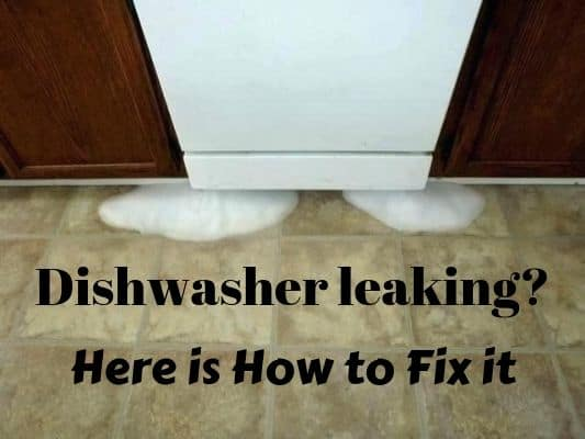 your dishwasher is leaking