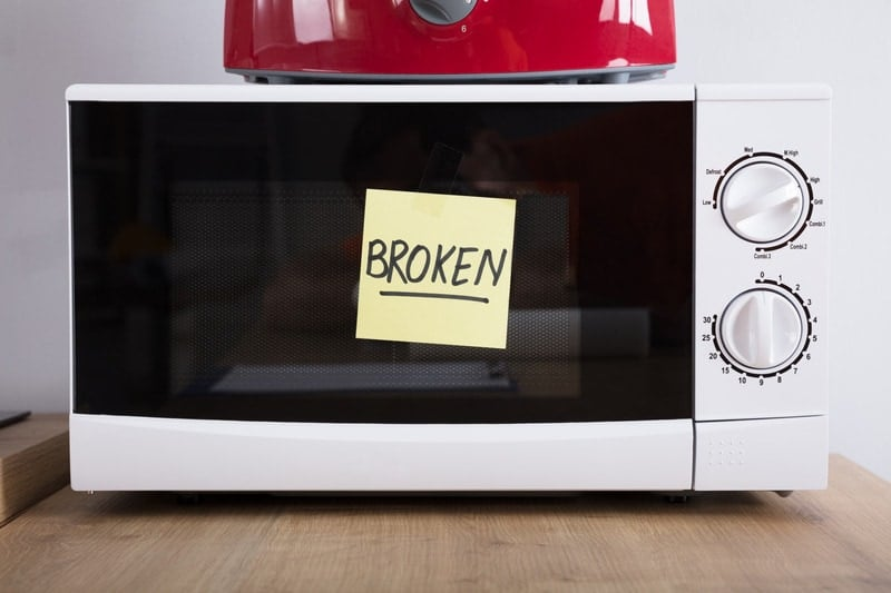 5 reasons why microwave is sparking