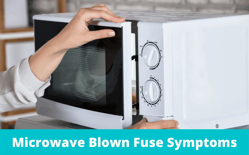 microwave blown fuse symptoms diy