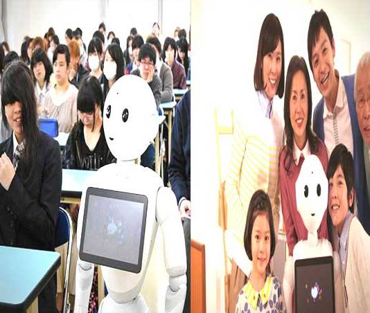 The world's first humanoid robot