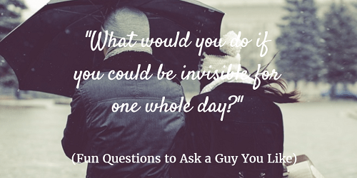 Best sexual questions to ask a guy