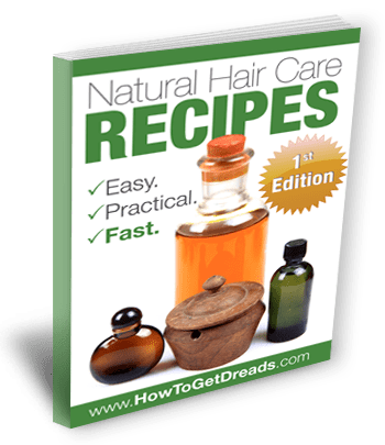 Natural Hair Care Recipes eBook: 1st Edition