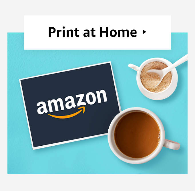 print at home gift cards amazon