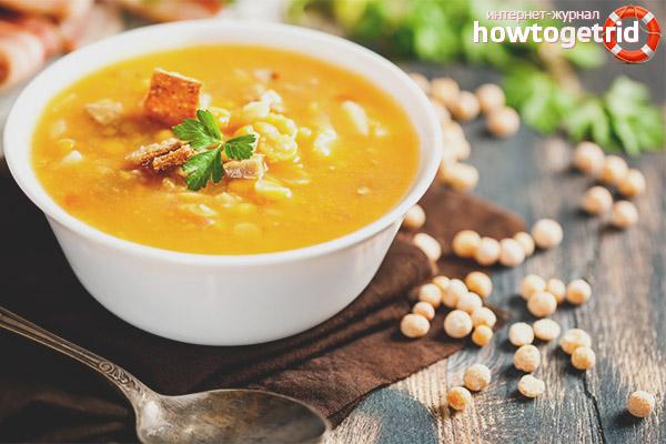 Можно ли есть гороховый суп при похудении
