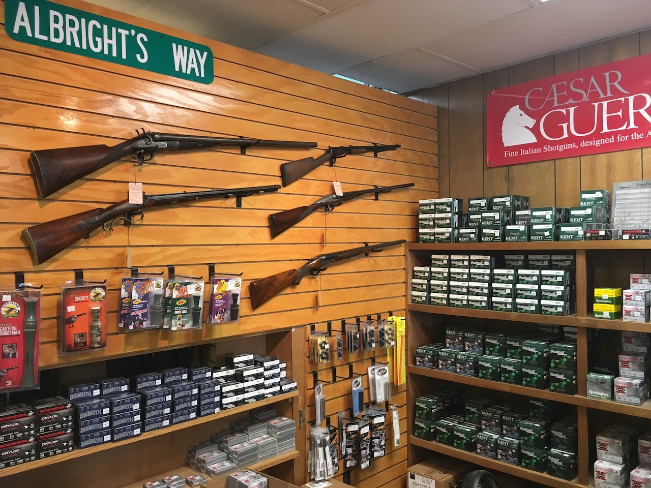 Albright's Gun Shop in Easton, MD