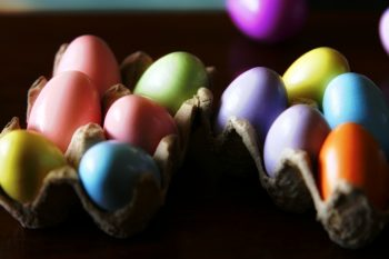 Easter eggs by Dan Zen
