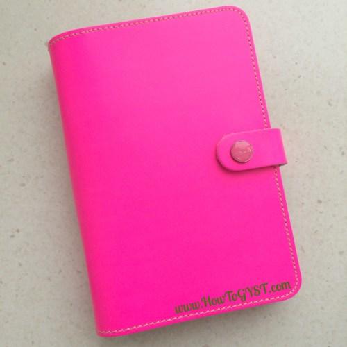 Filofax Original Fluro Pink - personal size.